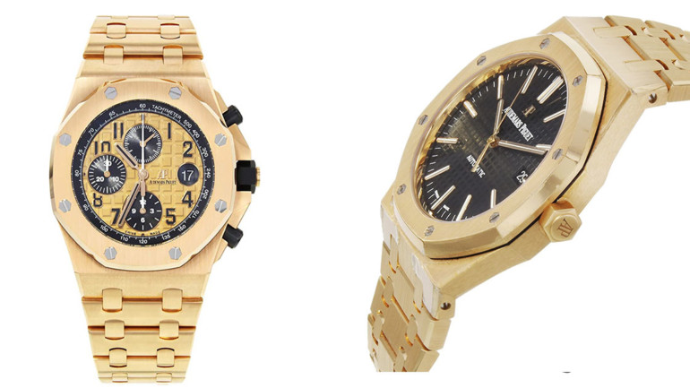 4 Luxurious Audemars Piguet Royal Oak Rose Gold Watches!