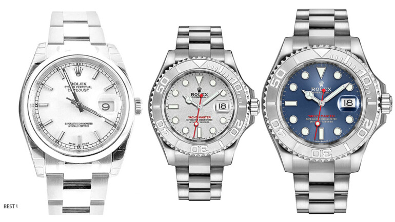 5 Rolex Yacht Master Oyster Perpetual That Will Make Your Life Luxurious.