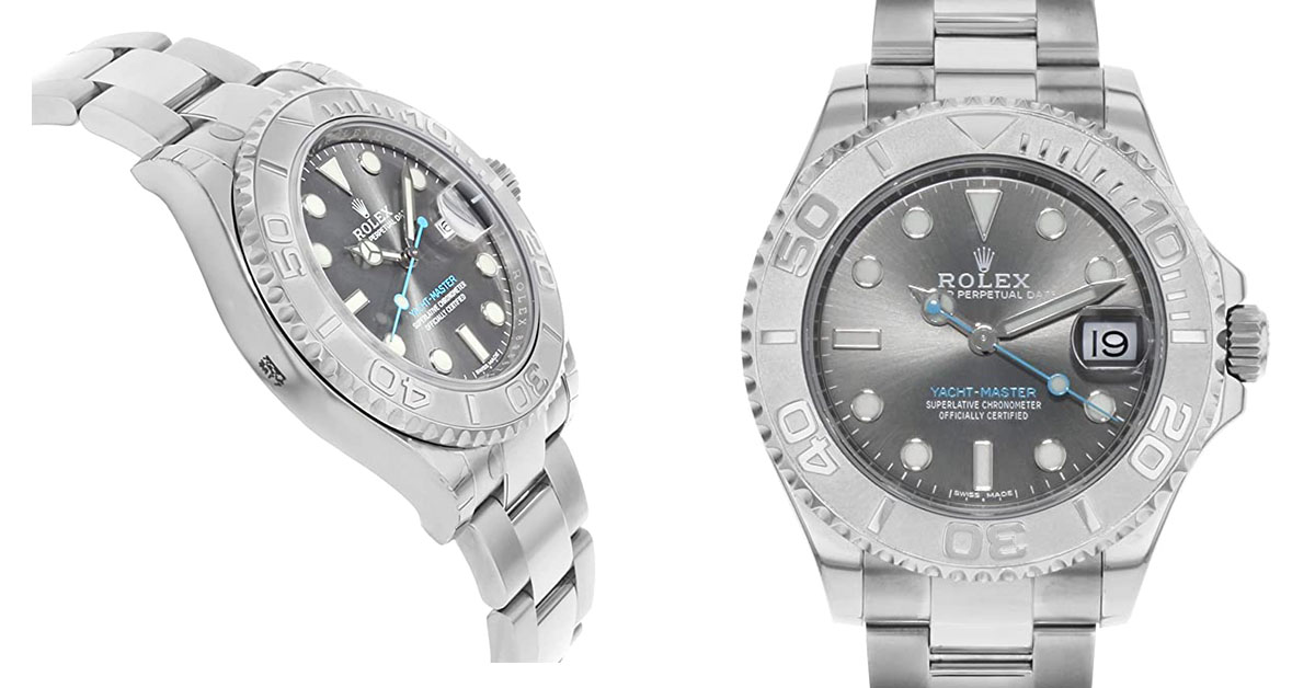 Why You Need Rolex Yacht Master Rhodium Dial Watch 268622 RSO?