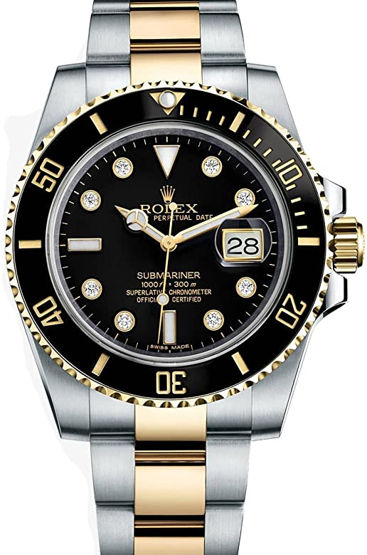 Rolex black diamond 116613