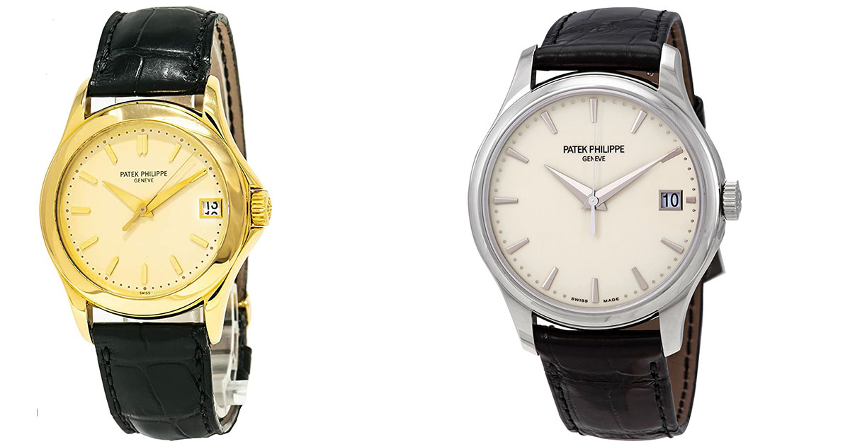 2 Luxurious Patek Philippe Calatrava Watches For Fashion Aware Men's