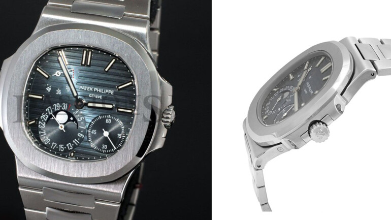 A Diagnostic Report of Patek Philippe Nautilus Moon Phase 5712/1A