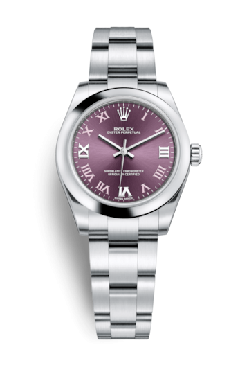 Rolex Oyster Perpetual 31 Red Grape