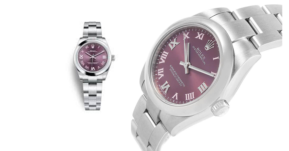 Rolex Oyster Perpetual 31 Red Grape- Your Wise Pick for Next Party!