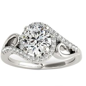 Allurez Bypass Halo Diamond