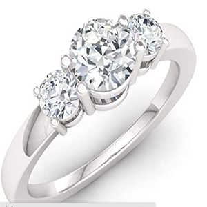 Diamondere Natural and Certified Gemstone 14K