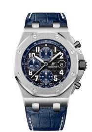 Audemars Piguet Midnight Blue Watch
