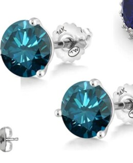 blue diamond earrings featured