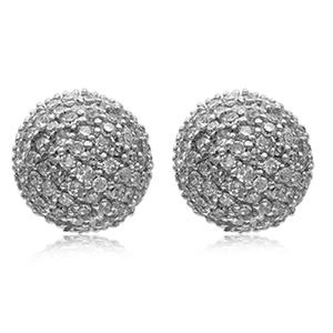 1/2 Carat Natural Diamond Earrings