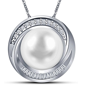 Issami 14KT White Gold Diamond