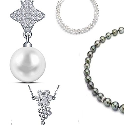 7 Exceptional Pearl and Diamond Necklace Only For Fashionable Girls.