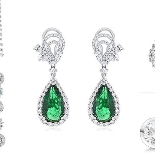 9 Gorgeous White Gold Earrings That Can Afford Only Rich People.