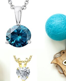 diamond wedding necklace set