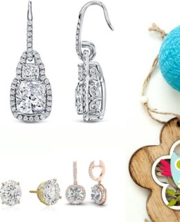 7 luxurious big diamond earrings