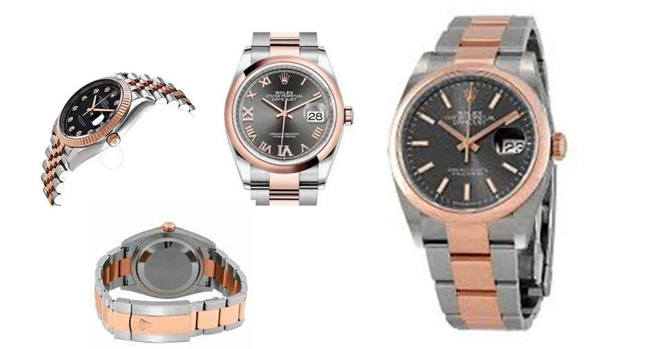 Exclusive Review Of Rolex Datejust 36 Dark Rhodium Dial Men's Watch