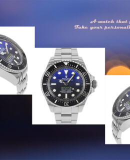 Rolex New Deep-Sea Deep Blue Sea-Dweller