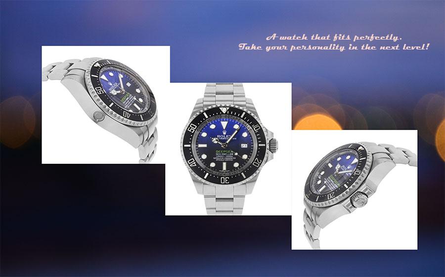Rolex New Deep-Sea Deep Blue Sea-Dweller – A new Edition Of Luxury!