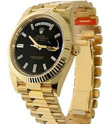 Rolex Oyster Perpetual 18K Yellow Gold