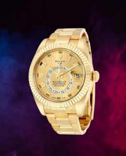 Rolex sky dweller champagne dial gmt review