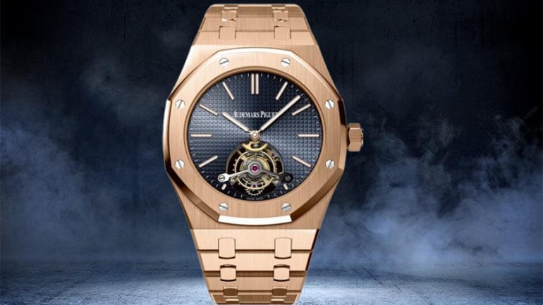 Things to about the Royal oak tourbillon 41 extra thin rose gold watch